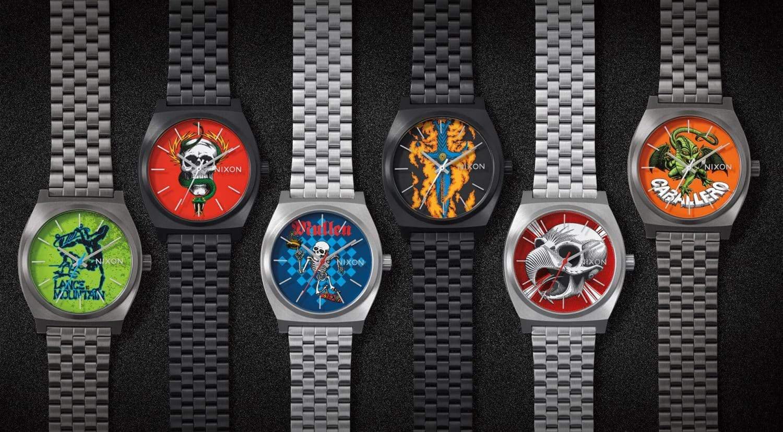 horloge voor nostalgische skateboarders