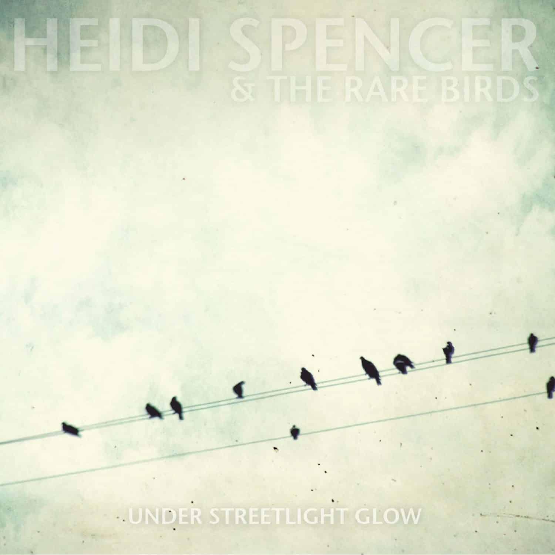 heidi spencer and the rare birds under streetlight glow artwork