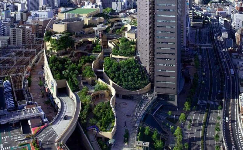namba parks rooftop garden osaka japan jon jerde 6