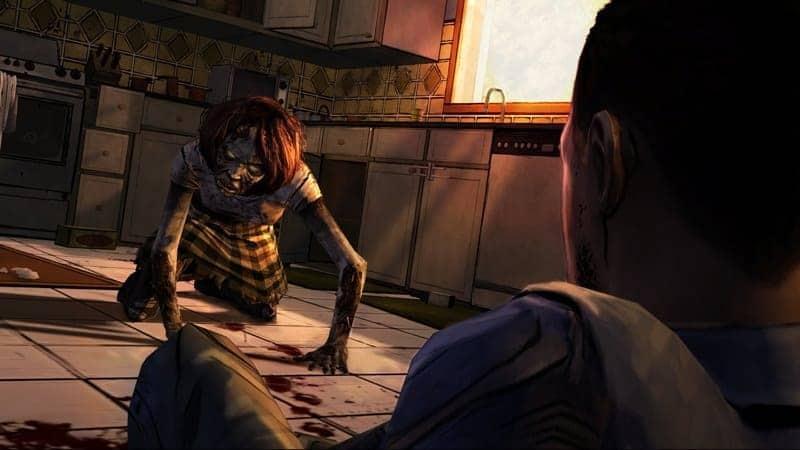 zombie in je keuken