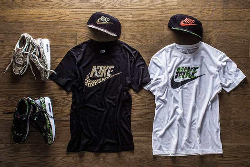 shirts, caps en sneakers