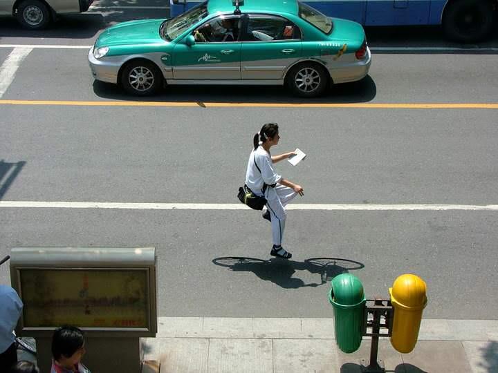 groene taxi