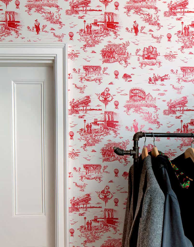 behang met print