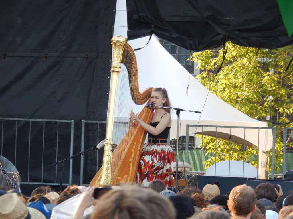 Joanna Newsom at Pitchfork