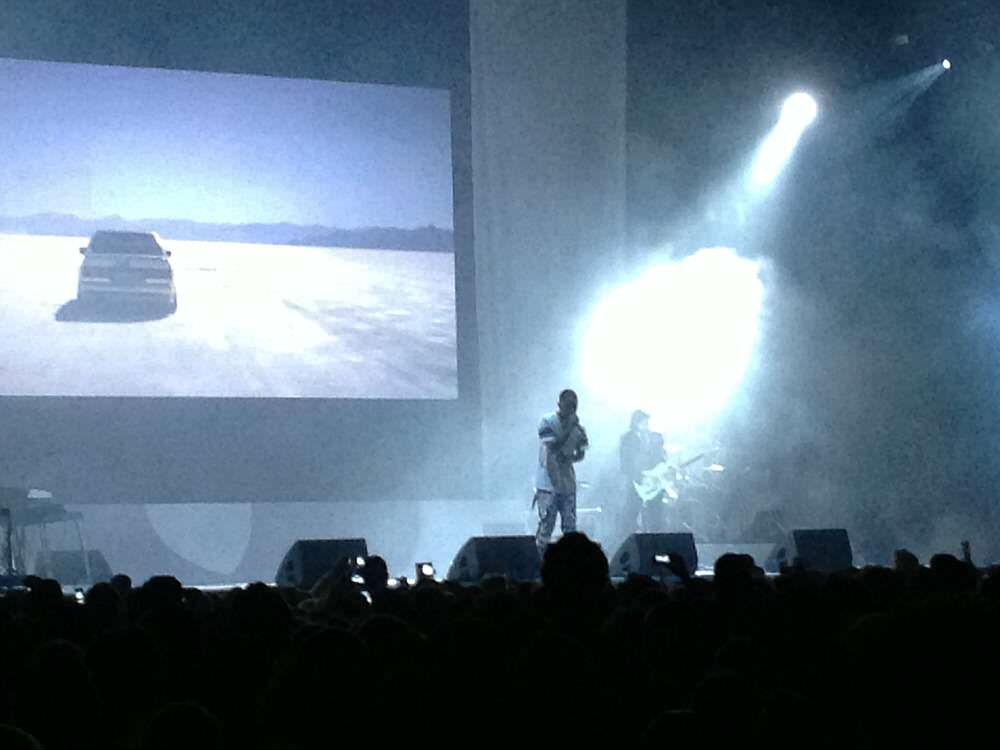 Frank Ocean in de Heineken Music Hall