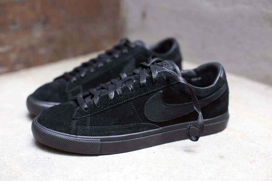 Comme des Garçons Black x Nike Blazer Low Premium