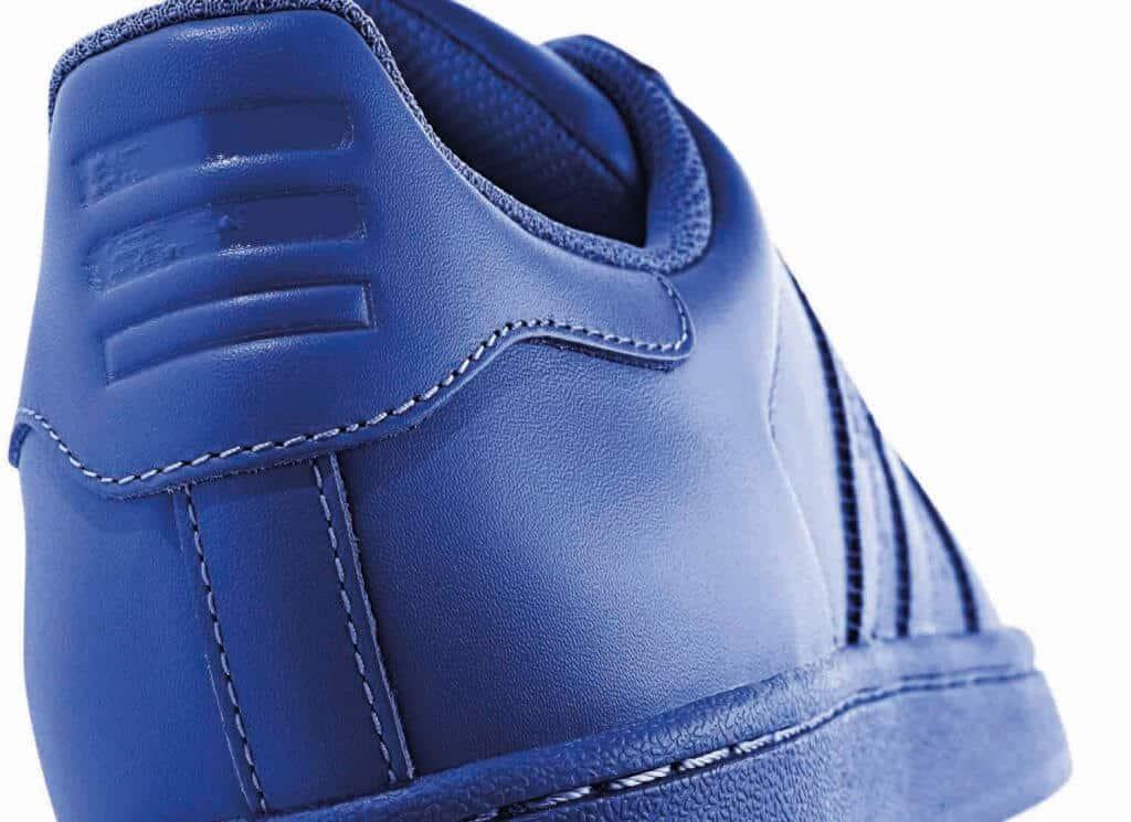 blauwe adidas superstar