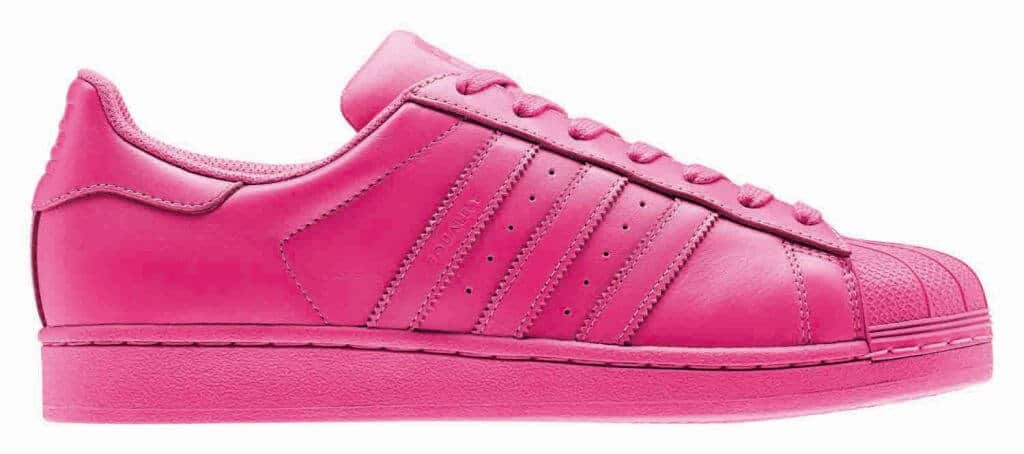 roze adidas superstar