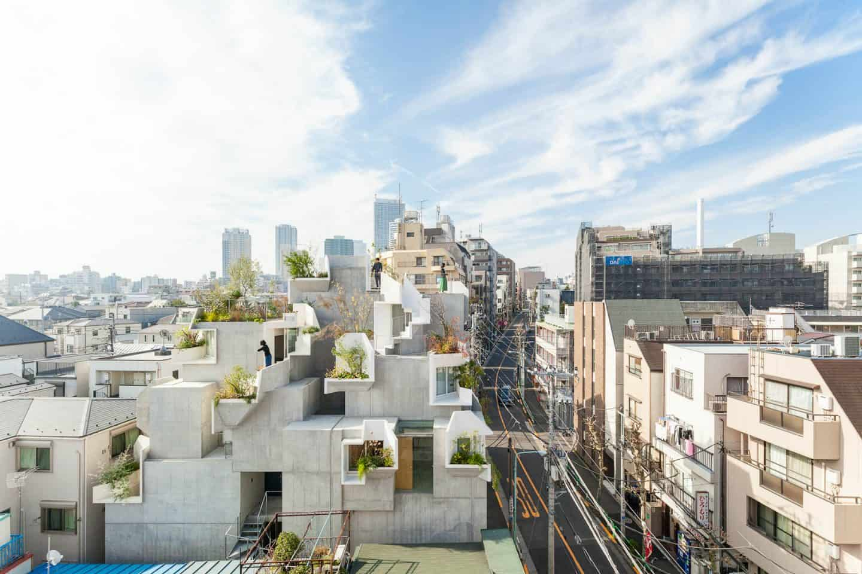 Boomhuis in Tokio van Akihisa Hirata