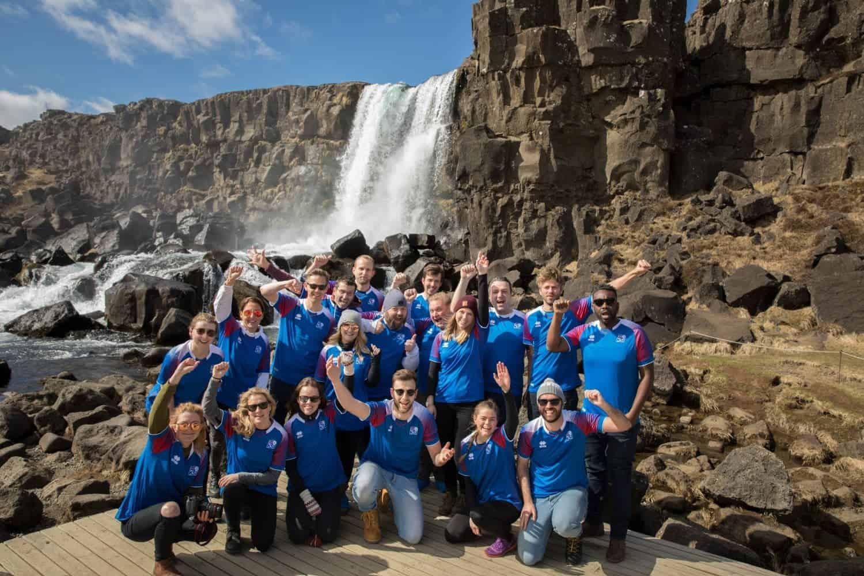 juichen voor IJsland
