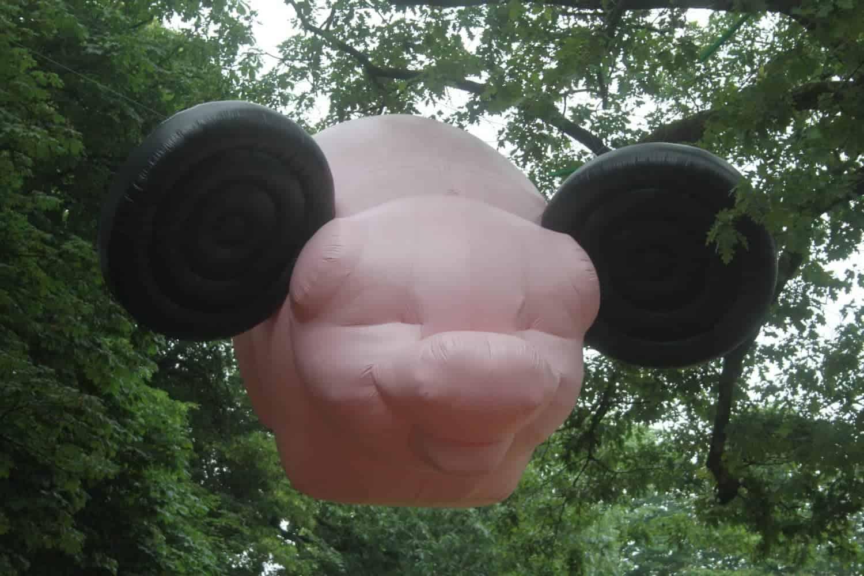 Museum Jan Cunen - Florentijn Hofman, Mickey The Pig