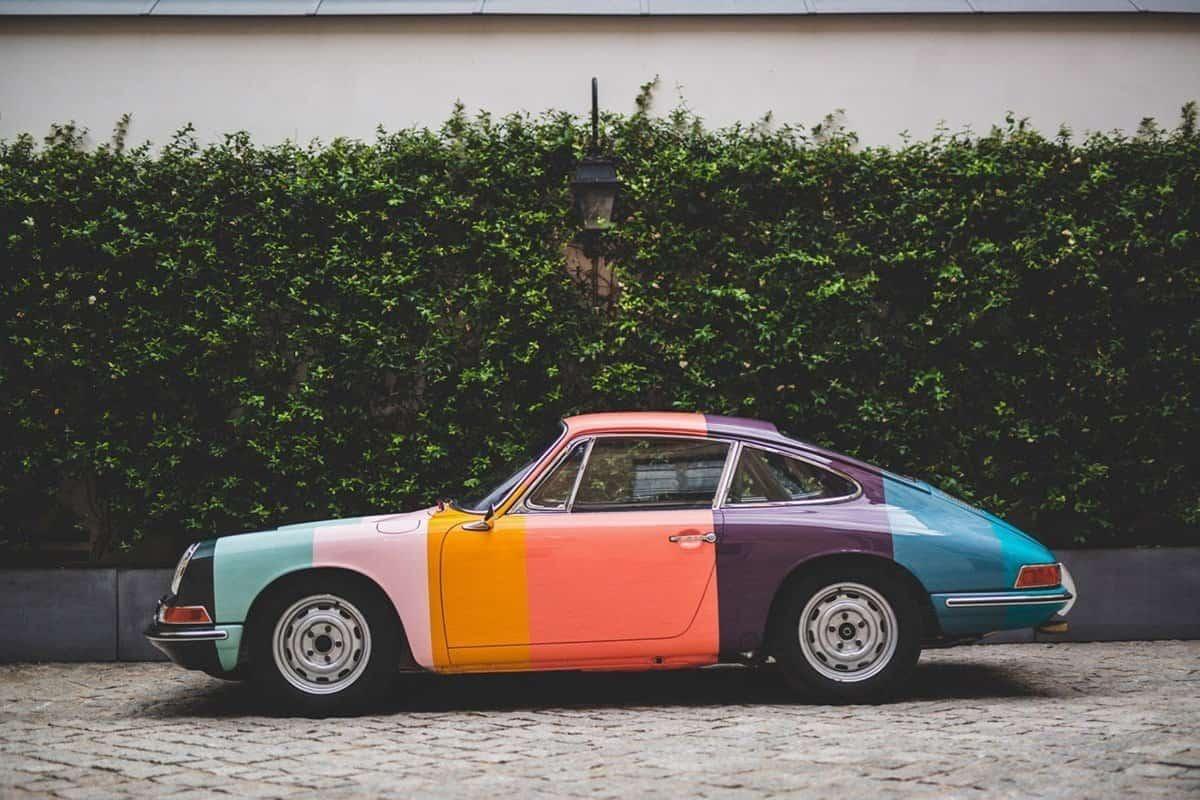 Porsche 911 in mooie kleuren