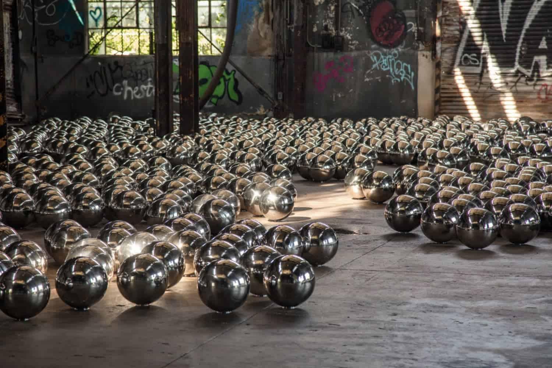 werk van Yayoi Kusama in New York