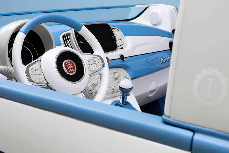 Cabrioversie van de Fiat 500