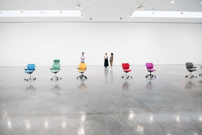 dansende stoelen