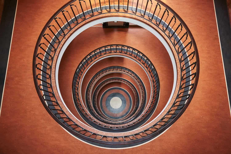 trappenhuis in Budapest