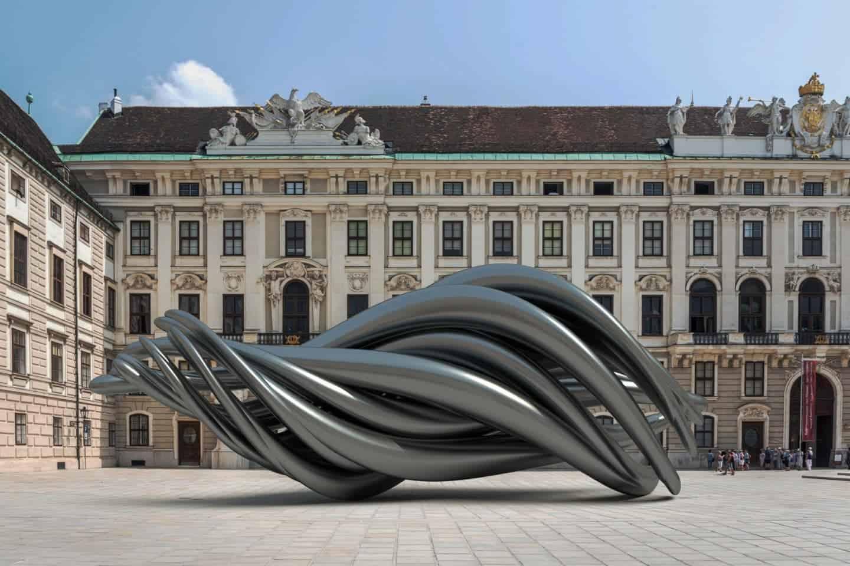 opvallende sculptuur van Ken Kelleher