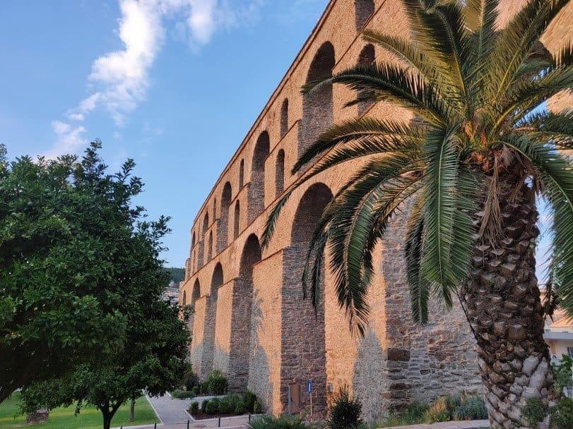 Het aquaduct van Kavala