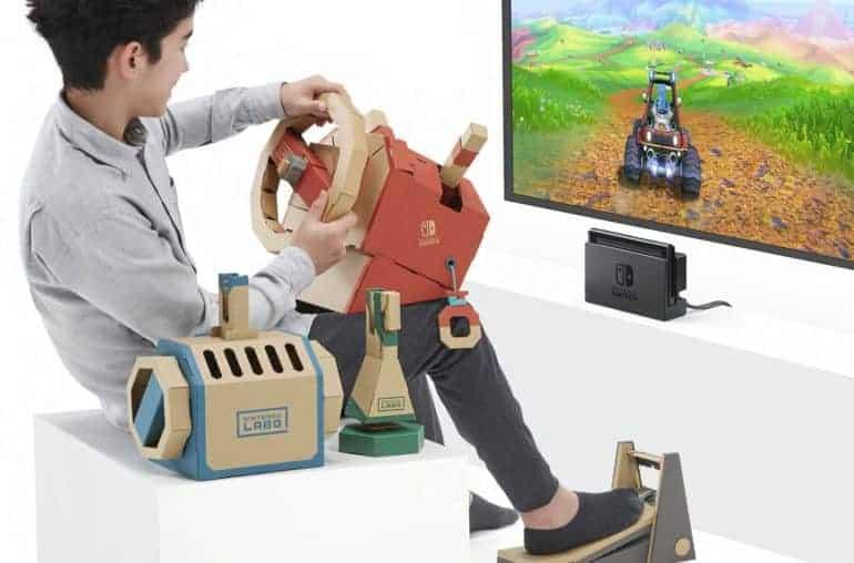 Getest - Nintendo Labo – Voertuigenpakket