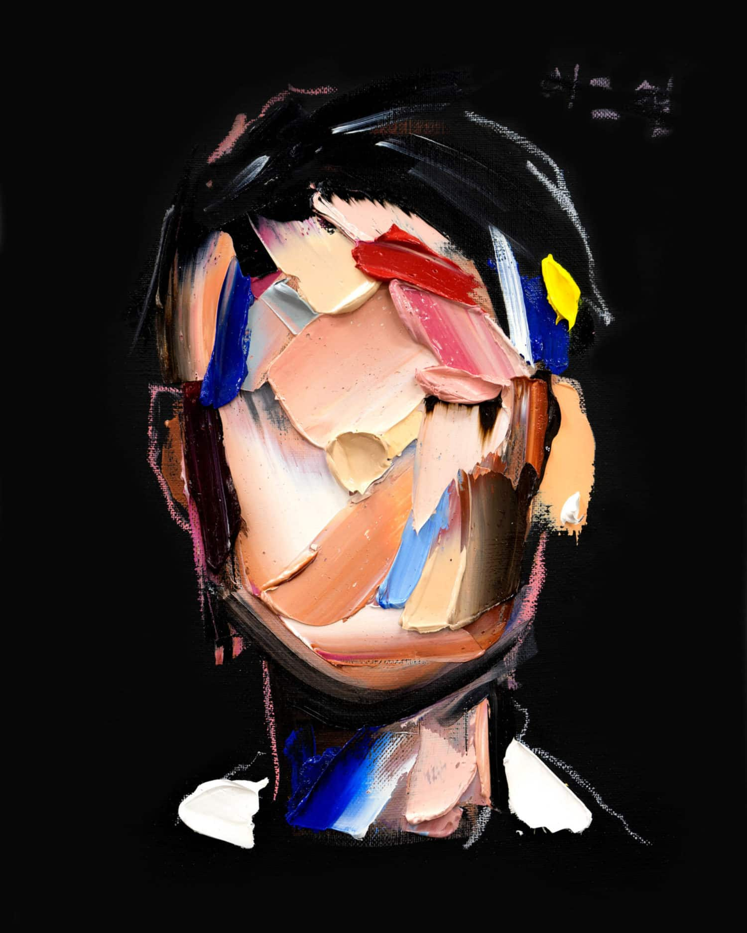 portret van kunstenaar Joseph Lee