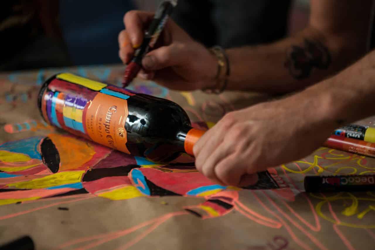 street art en wijn