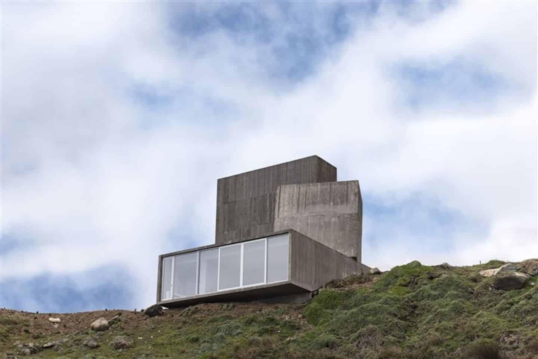 artistiek strandhuis in Chili