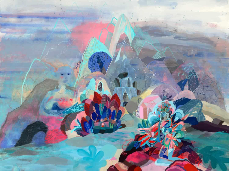 schilderij van kunstenaar Betty Watson
