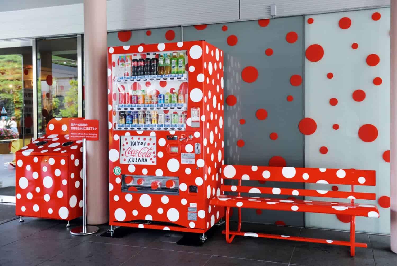 Yayoi Kusama, Dots Obsession, 2012, Matsumoto City Museum of Art, 4-2-22 Chuo, Matsumoto, Nagano 390-0811, Japan. © Yayoi Kusama