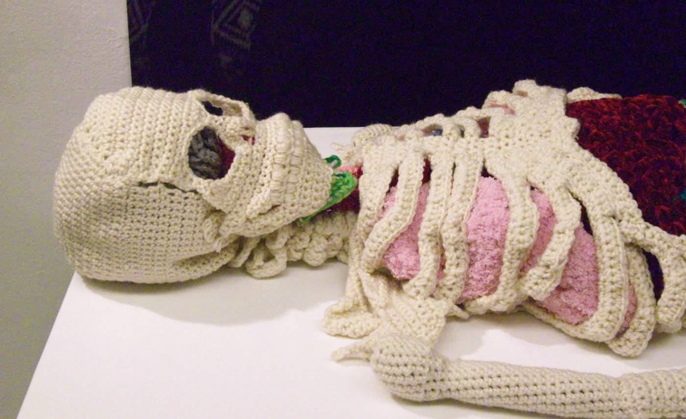 gehaakt skelet