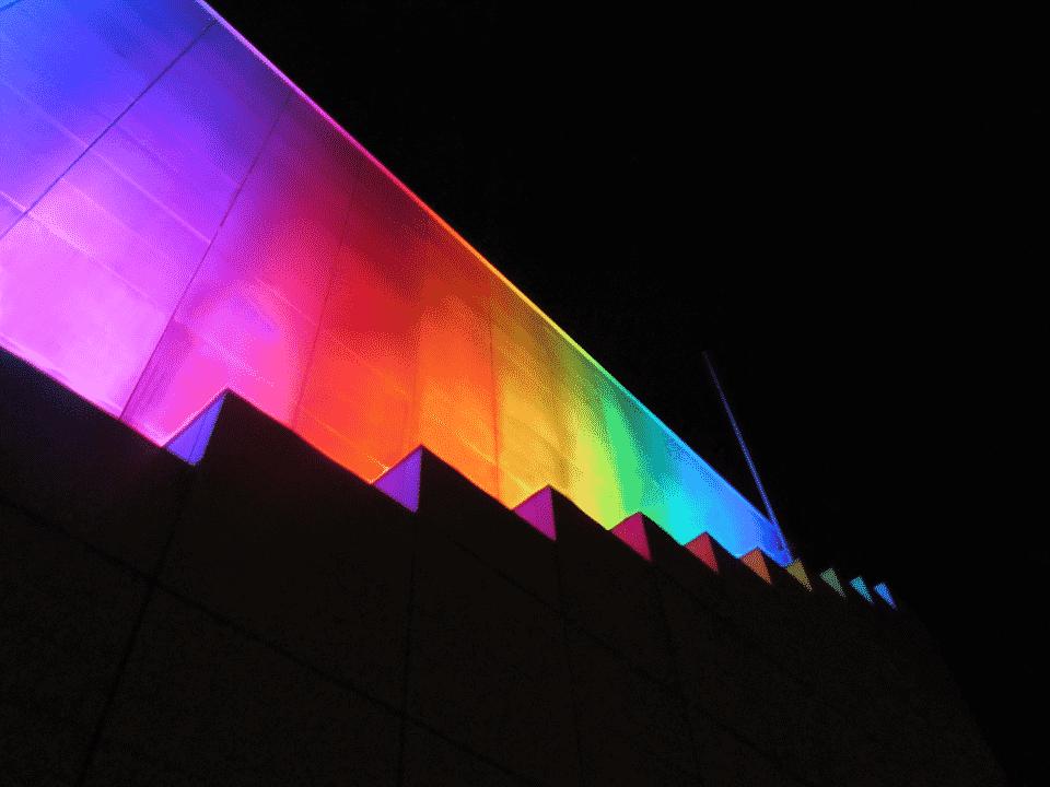 lichtkunst van Bill FitzGibbons