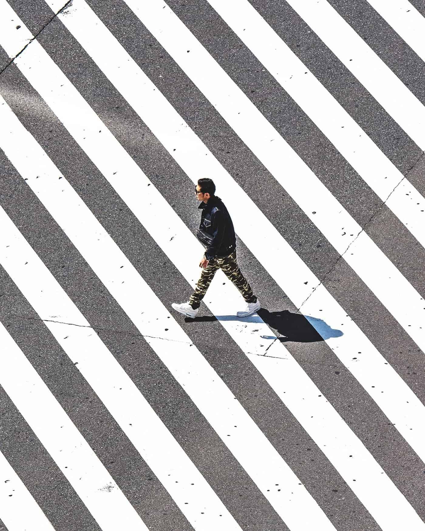 oversteken in Tokio