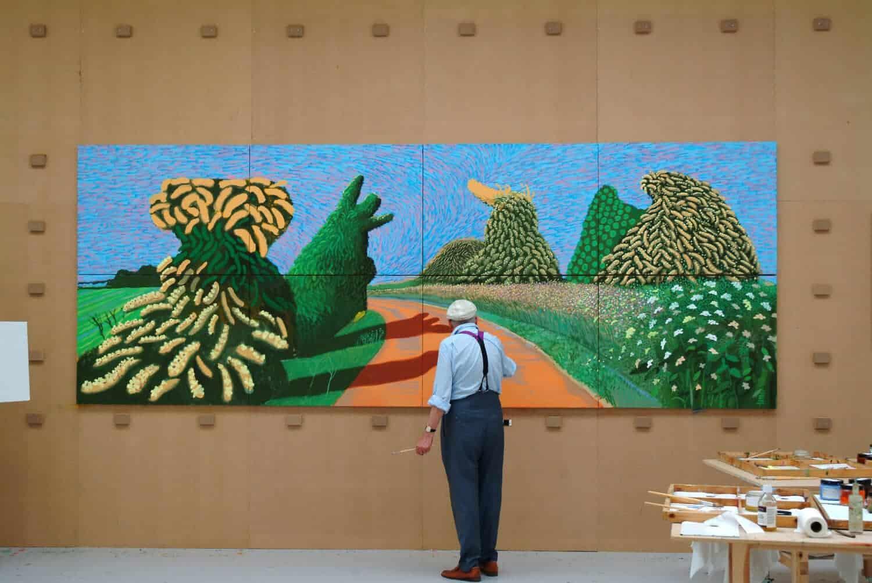 Hockney - Van Gogh -The Joy of Nature