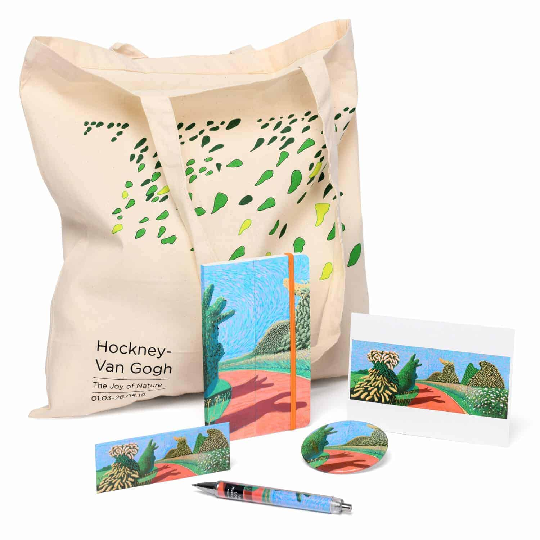 accessoires Hockney - Van Gogh