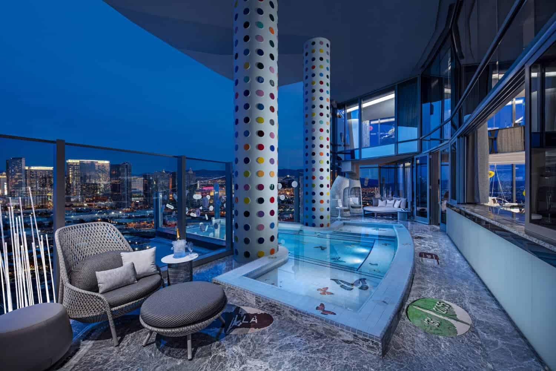 Deze hotelsuite is ontworpen door Damien Hirst