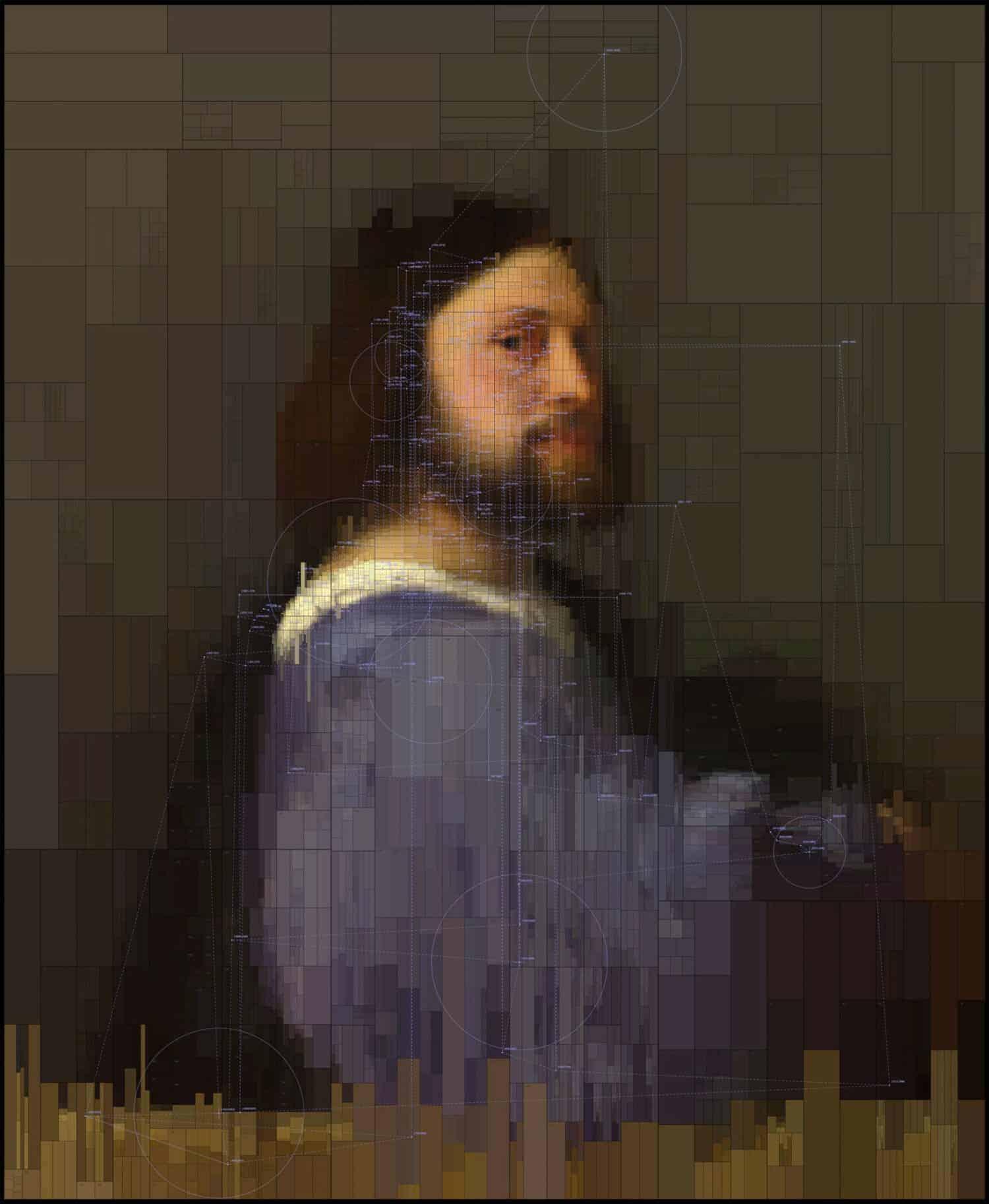 Moderne update voor klassiek schilderij