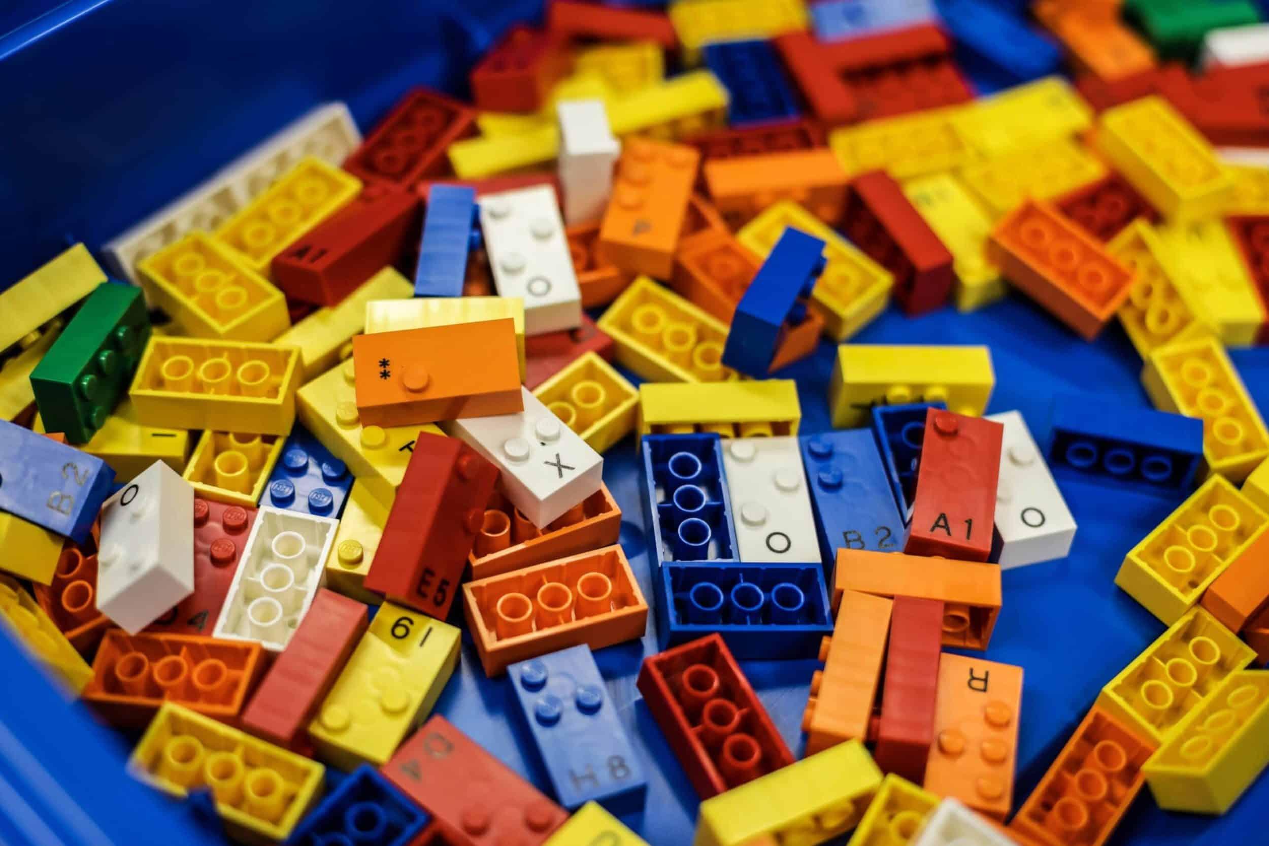 LEGO-stenen met braille