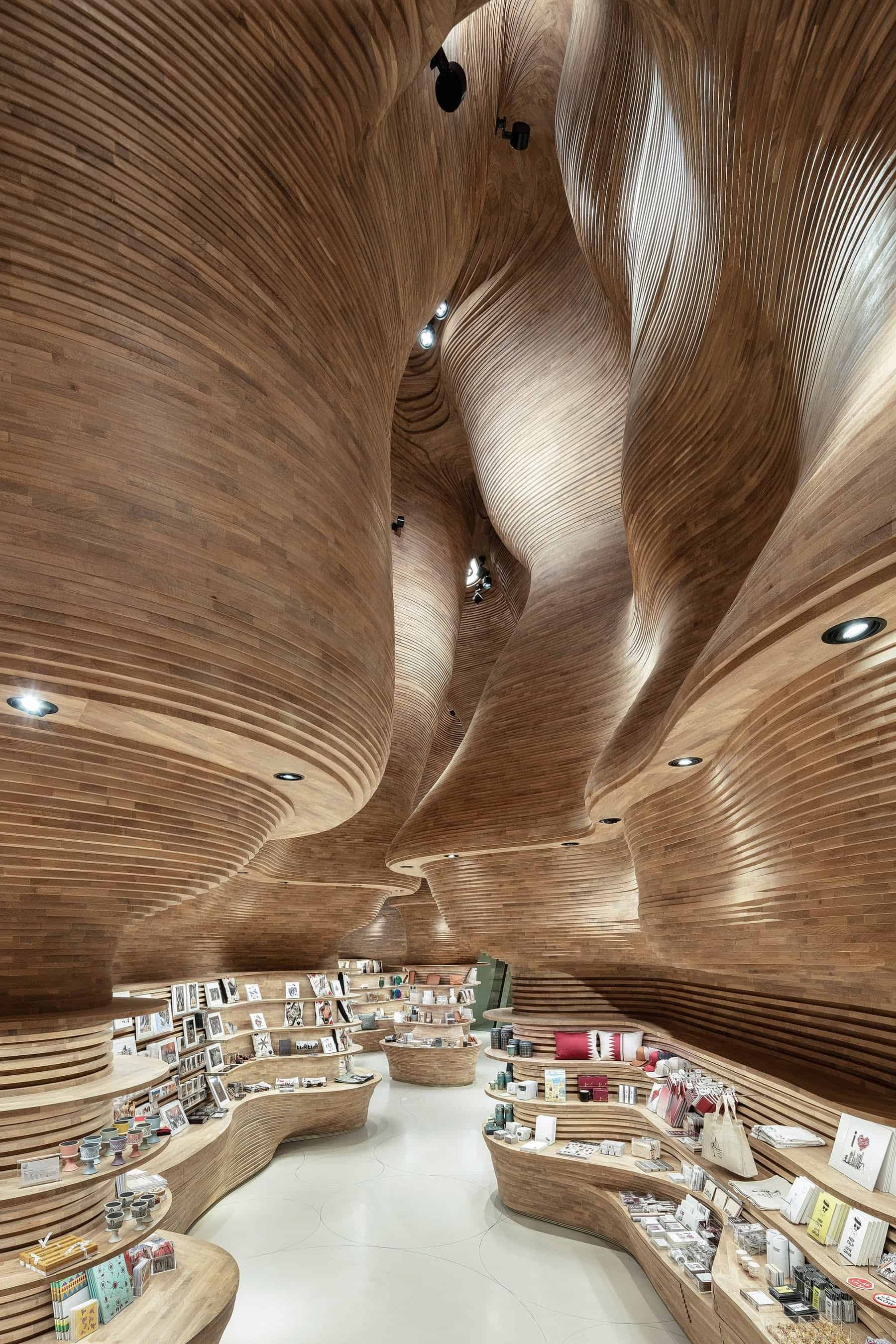 Museumwinkel in Qatar