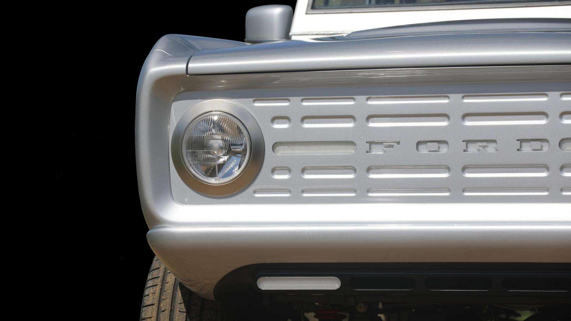 elektrische versie van de Ford Bronco
