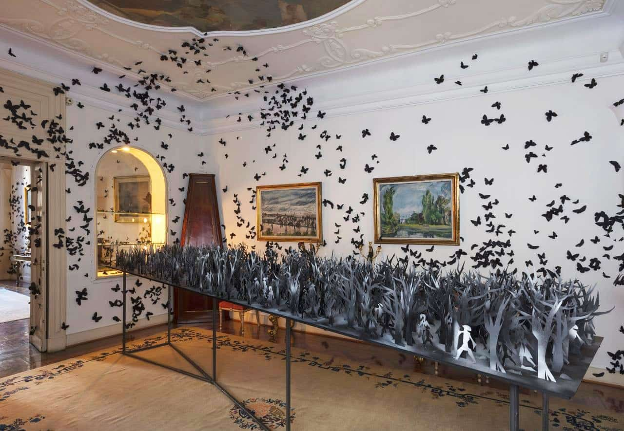 Installatie van kunstenaar Carlos Amorales