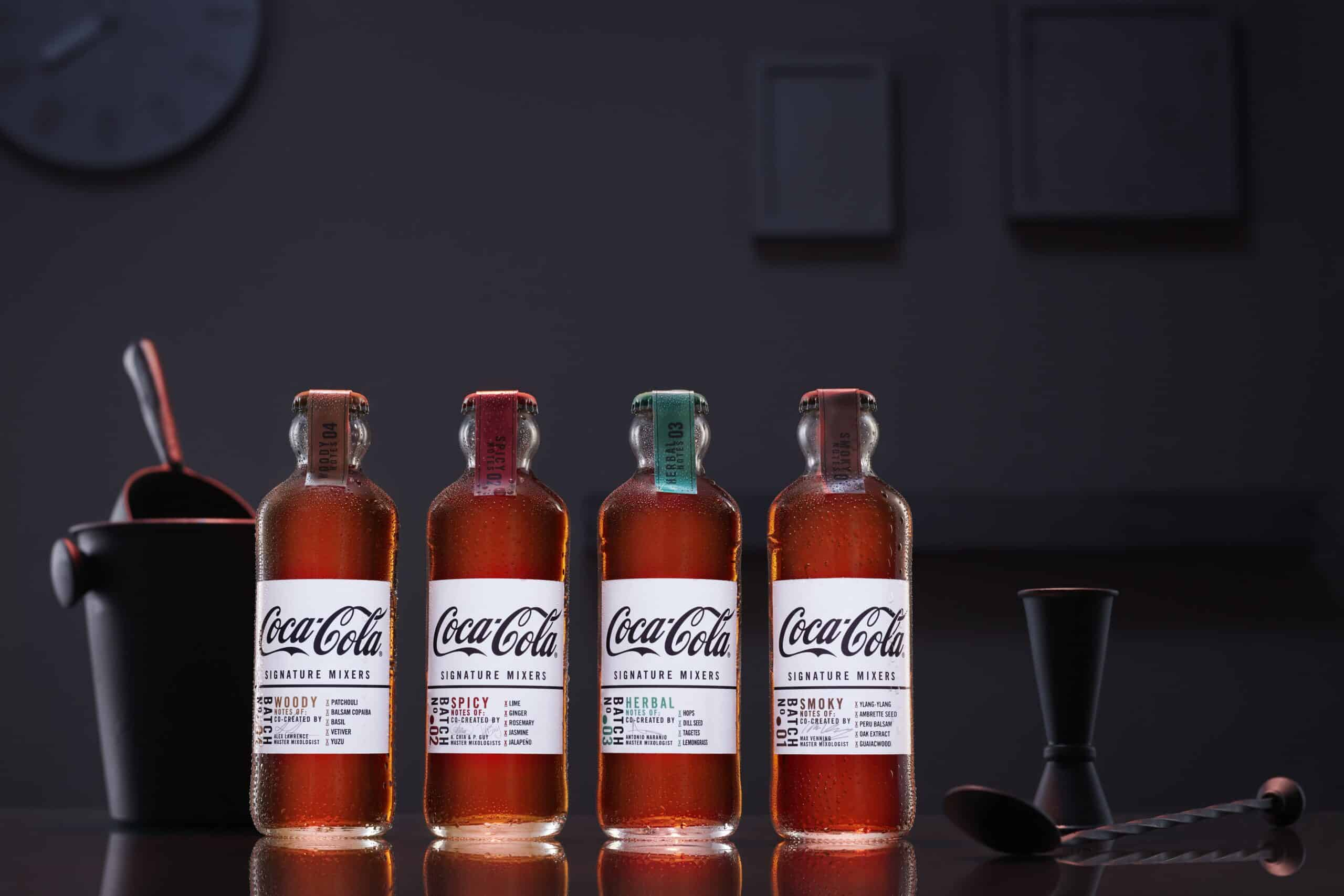 Mixen met Coca-Cola