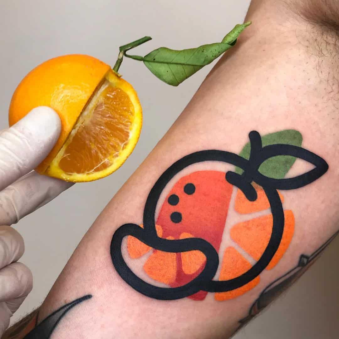 tatoeage van Mattia Mambo