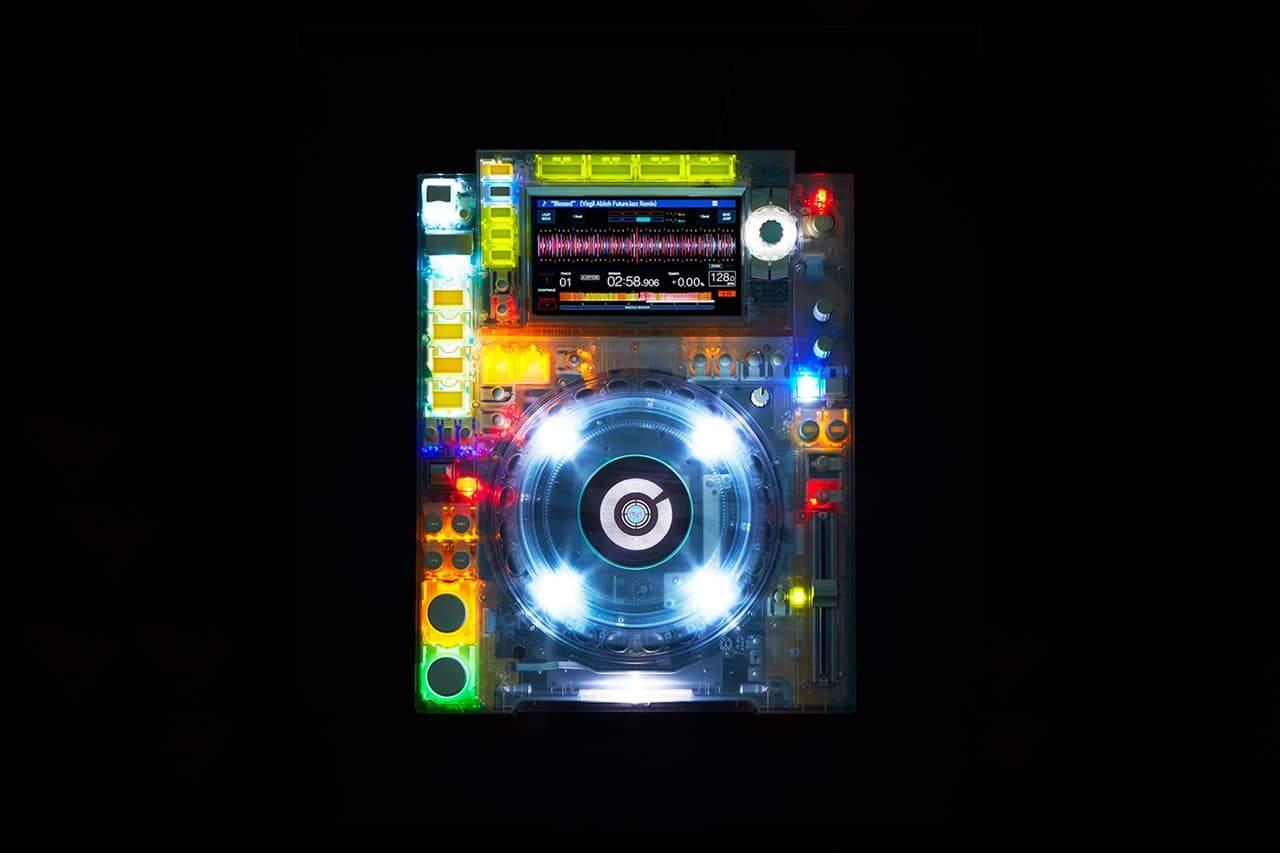 Transparante DJ-set van Pioneer