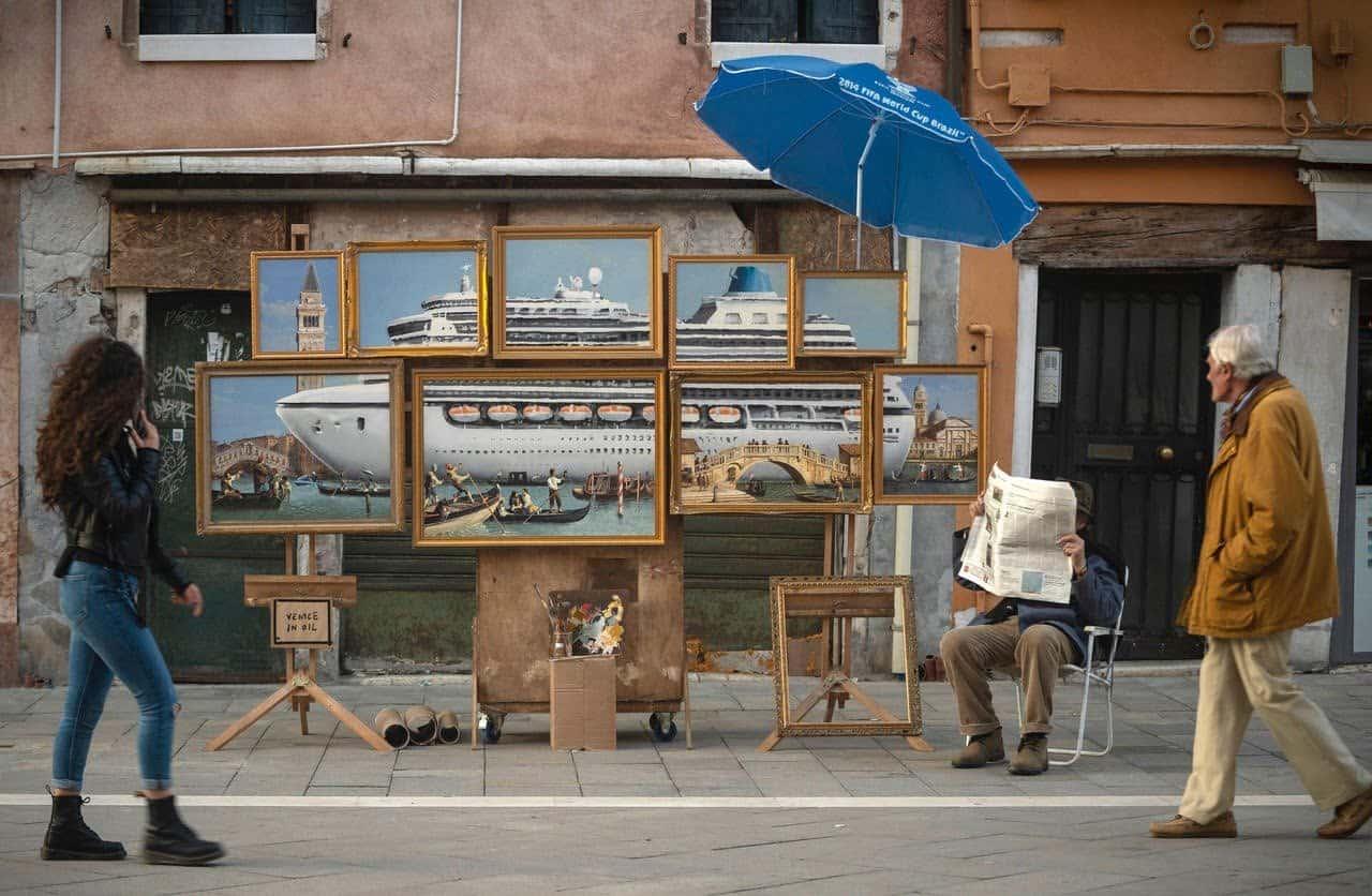 Bansky in Venetië