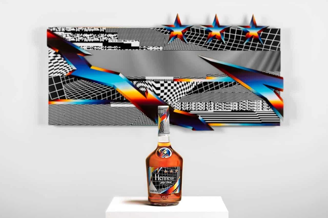 Felipe Pantone ontwerpt fles voor Hennessy