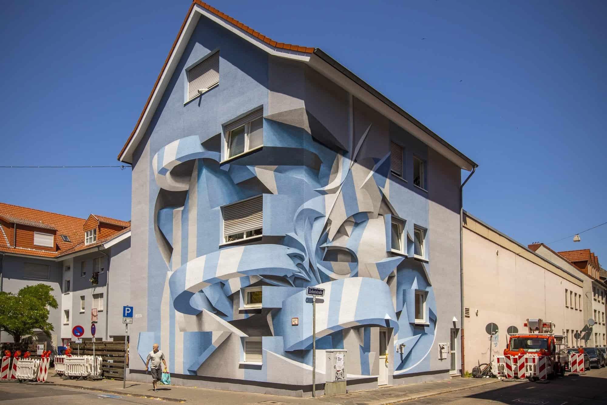 Duizelingwekkende street art van Peeta