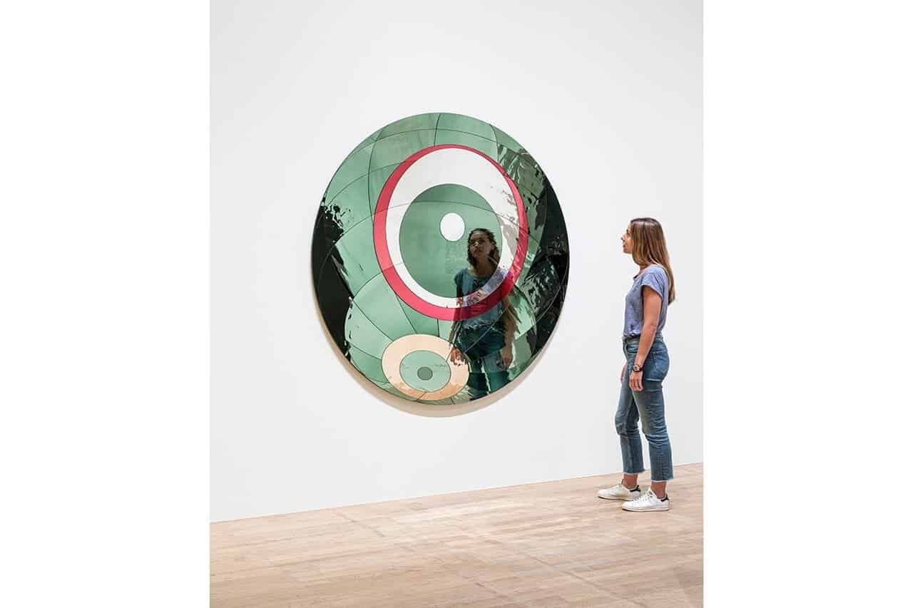 Glacial spherical flare, 2019. Anders Sune Berg. Courtesy the artist; neugerriemschneider, Berlin; Tanya Bonakdar Gallery, New York / Los Angeles. © 2019 Olafur Eliasson