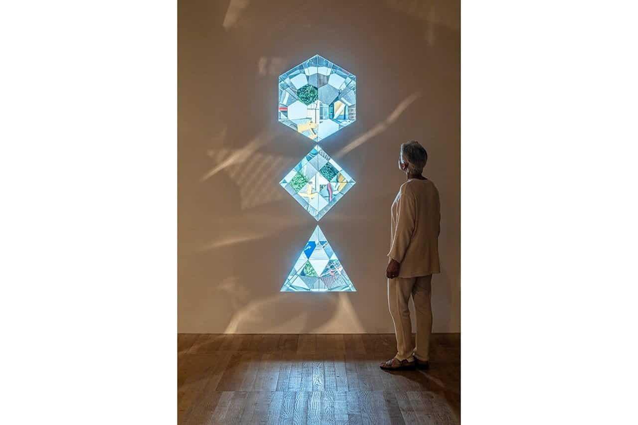 Your planetary window, detail, 2019. Anders Sune Berg. Courtesy the artist; neugerriemschneider, Berlin; Tanya Bonakdar Gallery, New York / Los Angeles. © 2019 Olafur Eliasson