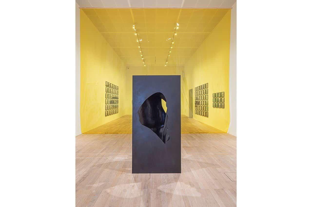The presence of absence pavilion, 2019. Anders Sune Berg. Courtesy the artist; neugerriemschneider, Berlin; Tanya Bonakdar Gallery, New York / Los Angeles. © 2019 Olafur Eliasson
