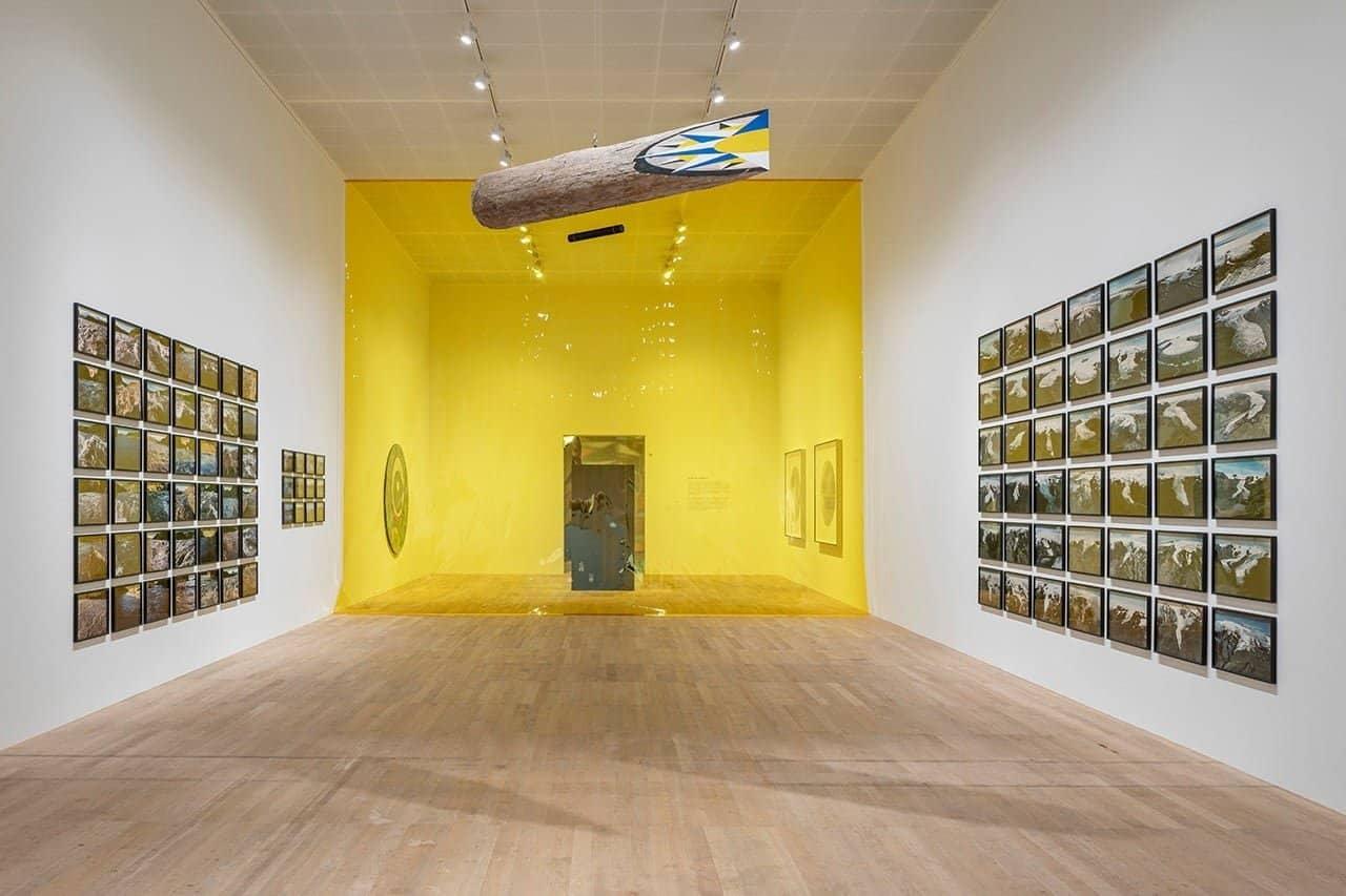Olafur Eliasson in het Tate Modern in Londen