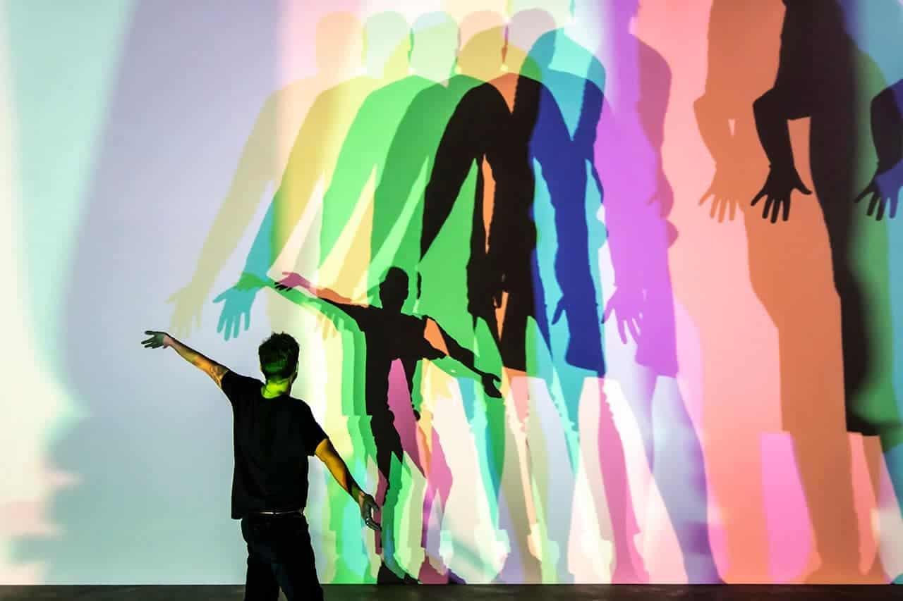 Your uncertain shadow (colour), 2010. Anders Sune Berg. © 2010 Olafur Eliasson